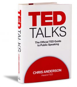 Chris Anderson book - TED Talks: The Official TED Guide to Public Speaking. Photo: Dian Lofton / TED